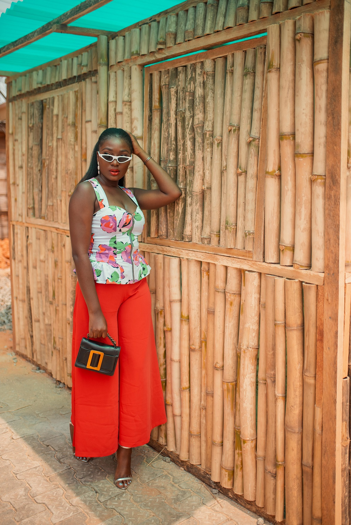Valentine's Day outfit inspiration day and night fashion blogger Wumi Tuase